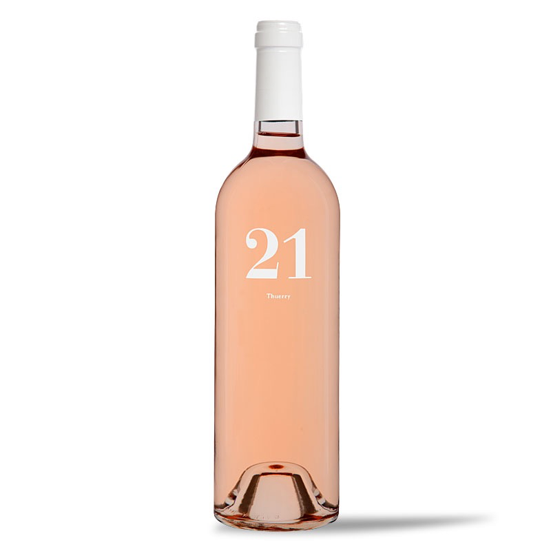 Wine Chateau Thuerry Le 21 Provence Rose 2018