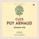 Wine Clos Puy Arnaud, Castillon Côtes de Bordeaux  2014