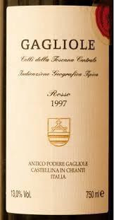 Wine Gagliole Rosso 1997 1.5L