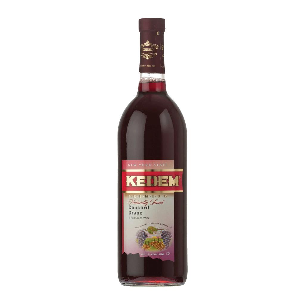 Wine Kedem Concord Natural Kosher