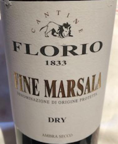 Wine Florio Dry Marsala