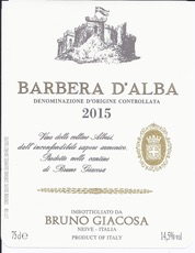 Wine Bruno Giacosa Barbera d'Alba 2017