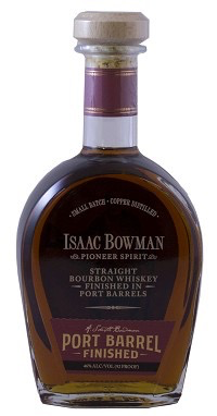 Spirits Isaac Bowman Bourbon Port Barrel Finished
