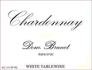 Wine Domaine Brunet Chardonnay 2015