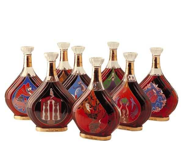 Spirits Courvoisier Erte Collection Complete Set 1-8