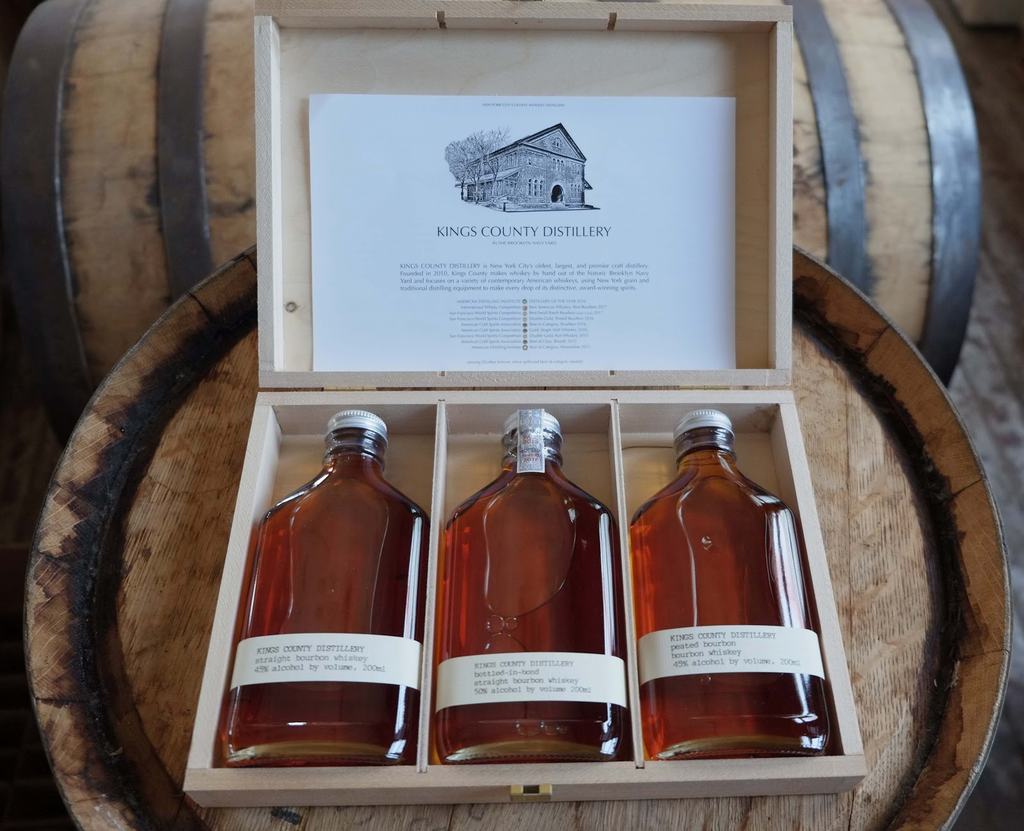 Spirits Kings County Distillery Father's Day Gift Set 3-bottle-box 200ml