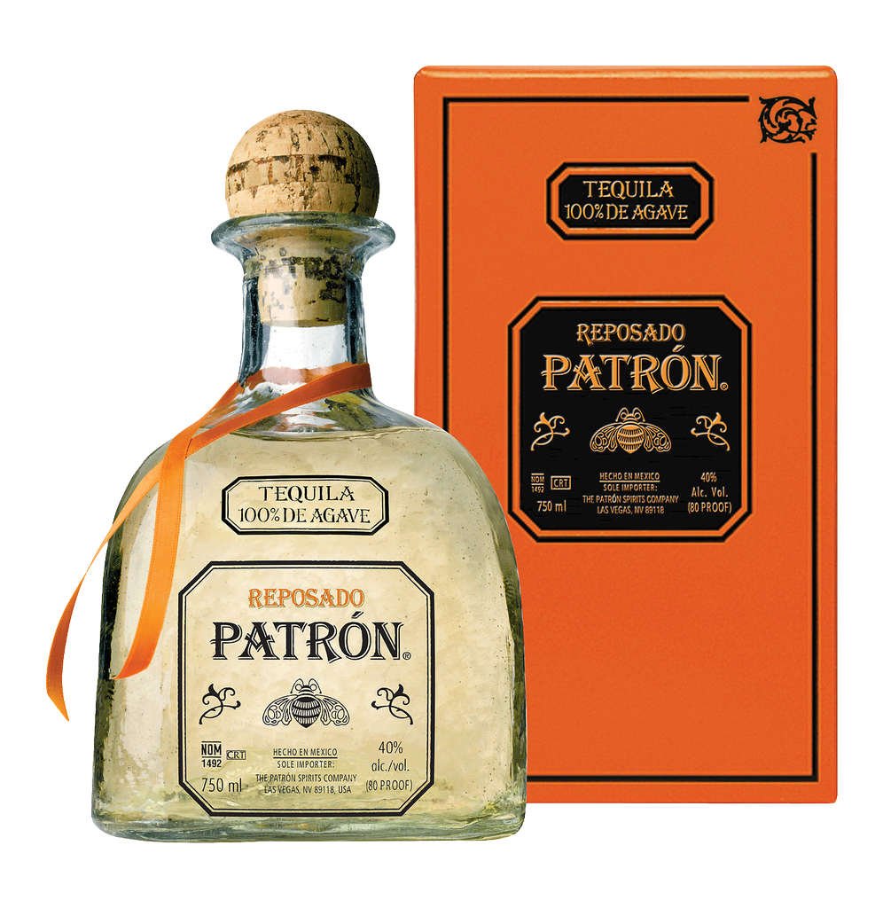 Spirits Patron Reposado Tequila