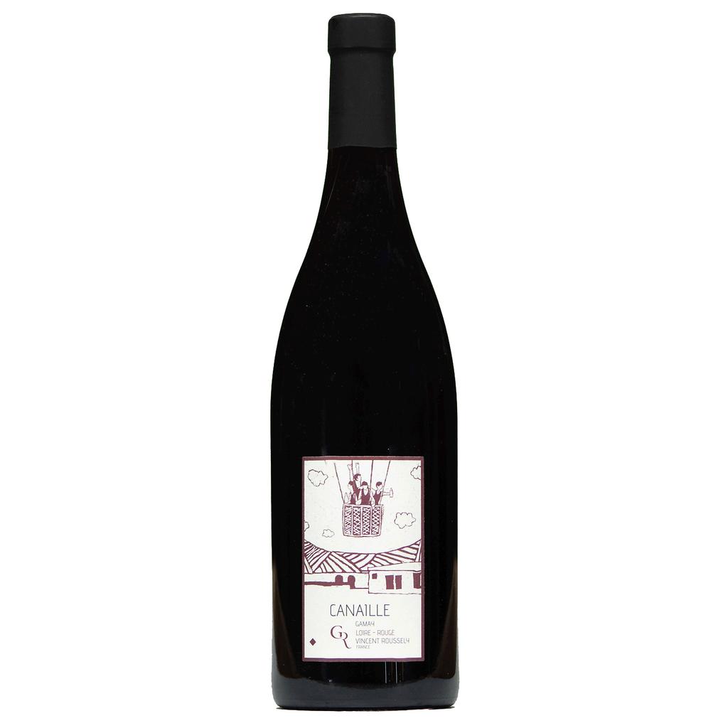 Wine Domaine du Clos Roussely Touraine Canaille Rouge 2017