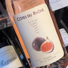 Wine Domaine de la Bastide Cotes du Rhone Figue Rose 2018
