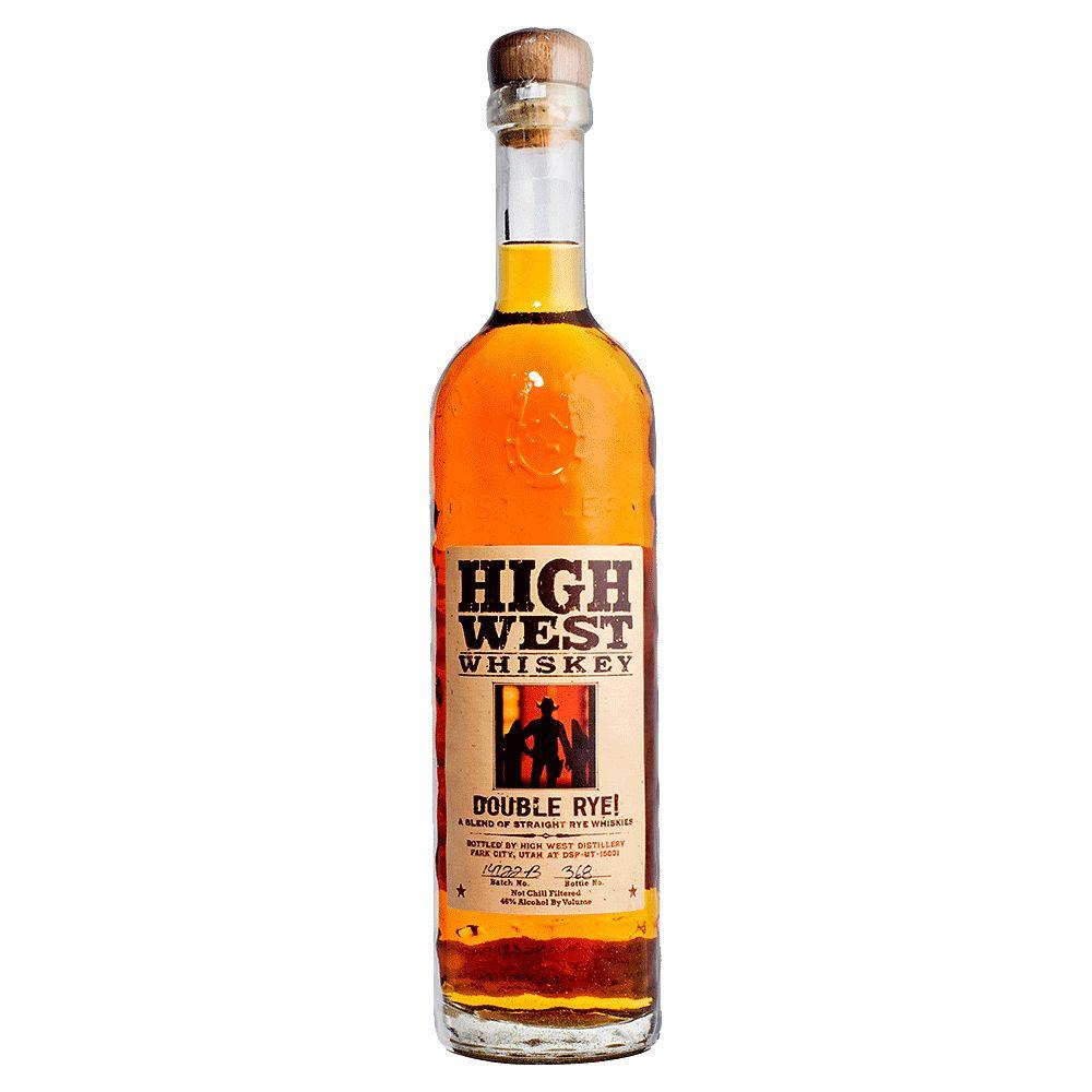 Spirits High West Double Rye Whiskey