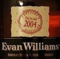 Spirits Evan Williams Single Barrel Bourbon 86.6