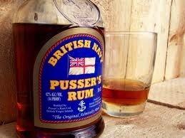 Spirits Pussers British Navy Rum Barbados