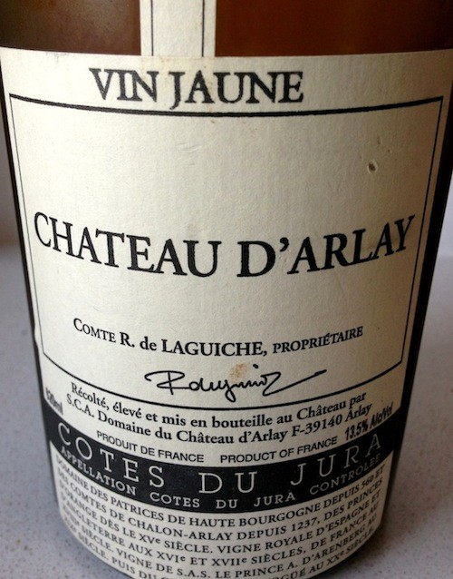 Wine Chateau d'Arlay Vin Jaune 2005