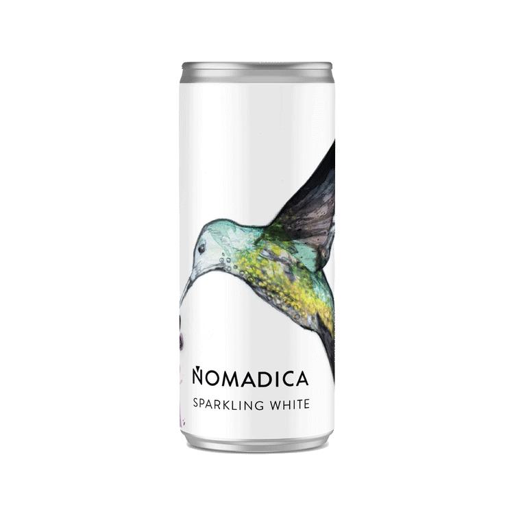 Sparkling Nomadica Sparkling White Wine 250 ml can