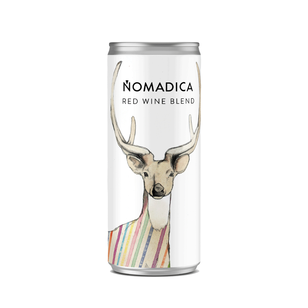 Wine Nomadica Red Wine Blend Central Coast 250ml can