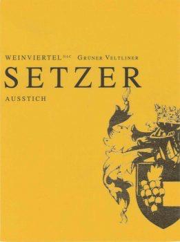 Wine Setzer Weinviertel Gruner Veltliner Ausstich 2016