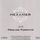 Wine Hexamer Riesling Porphyr Schlossbockelheime in Den Felsen Feinherb 2015