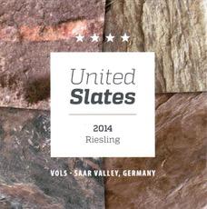 Wine Vols Riesling United Slates Feinherb 2016