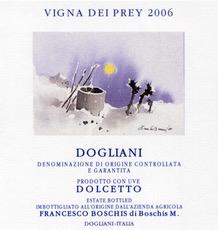 Wine Francesco Boschis Dogliani Dolcetto Vigna dei Prey 2015
