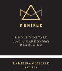 Wine Moniker Single Vineyard Chardonnay La Ribera VIneyard 2016