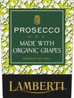 Sparkling Lamberti Organic Prosecco