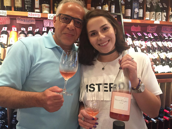 Wine Vinas del Cambrico Rose 2018