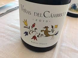 Wine Vinas Del Cambrico Rufete Blanca 2016