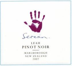 Wine Seresin Estate Pinot Noir LEah Marlborough 2015