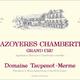 Wine Taupenot Merme Mazoyeres Chambertin Grand Cru 2016