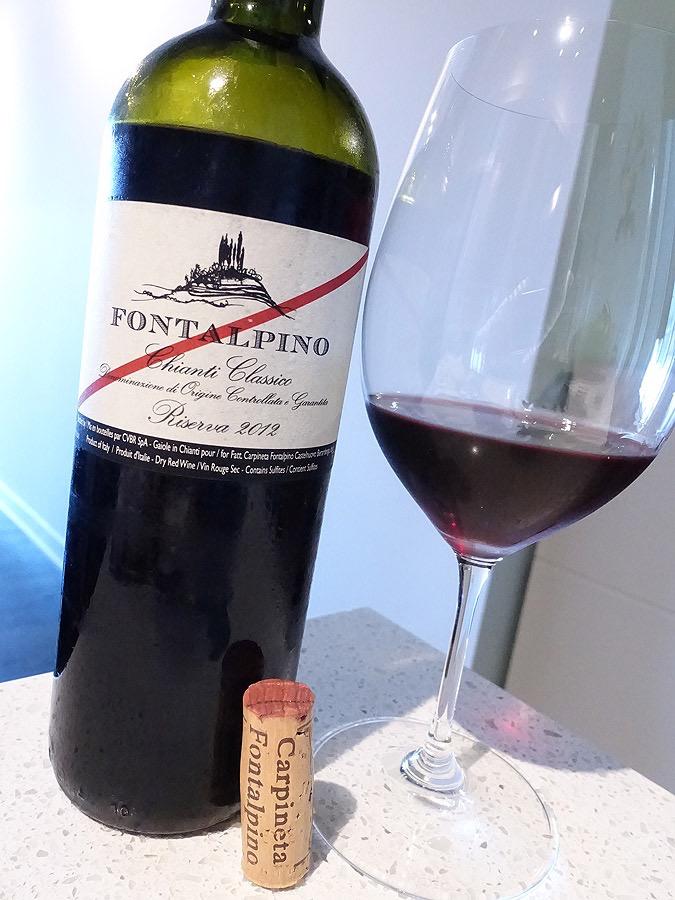 Wine Fattoria Carpineta Fontalpino Chianti Classico Riserva 2012