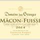 Wine Domaine des Granges Macon Fuisse 2018