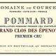 Wine Domaine de Courcel Pommard Grand Clos des Epenots Premier Cru 2004