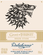 Spirits Game of Thrones Dalwhinnie House Stark Winter's Frost Scotch Whisky Limited Edition