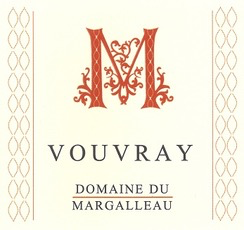 Wine Domaine du Margalleau Vouvray 2017