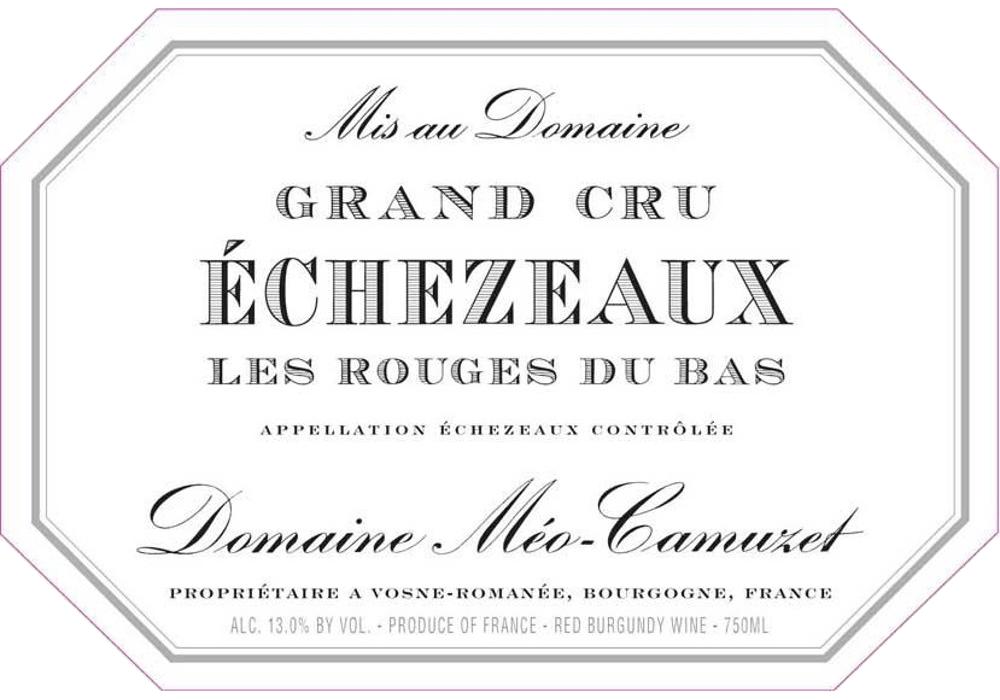 Wine Meo Camuzet Echezeaux Grand Cru  2011 1.5L