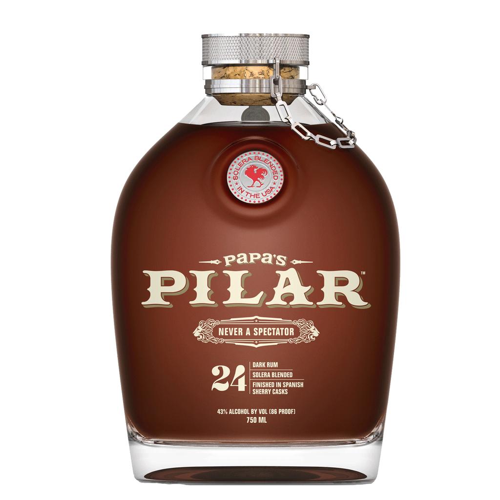 Spirits Papas Pilar Dark 24 Year Old Rum