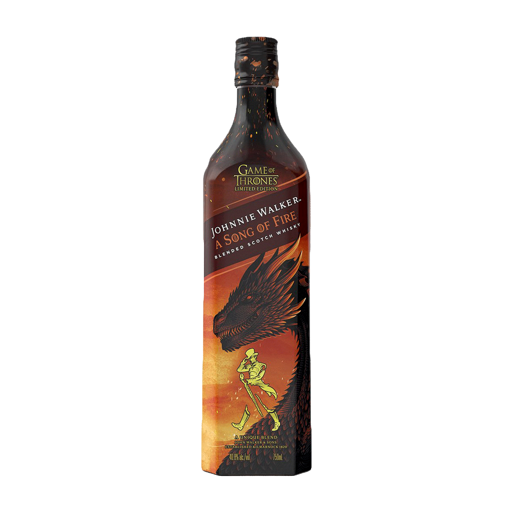 Spirits Game of Thrones Johnnie Walker A Song of Fire Scotch Whisky