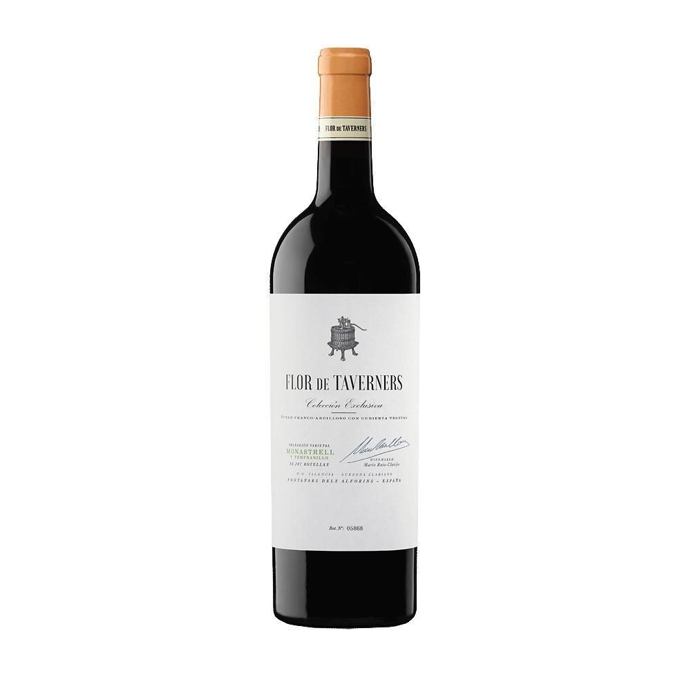 Wine Flor de Taverners Valencia Monastrell y Tempranillo Coleccion Exclusiva 2016