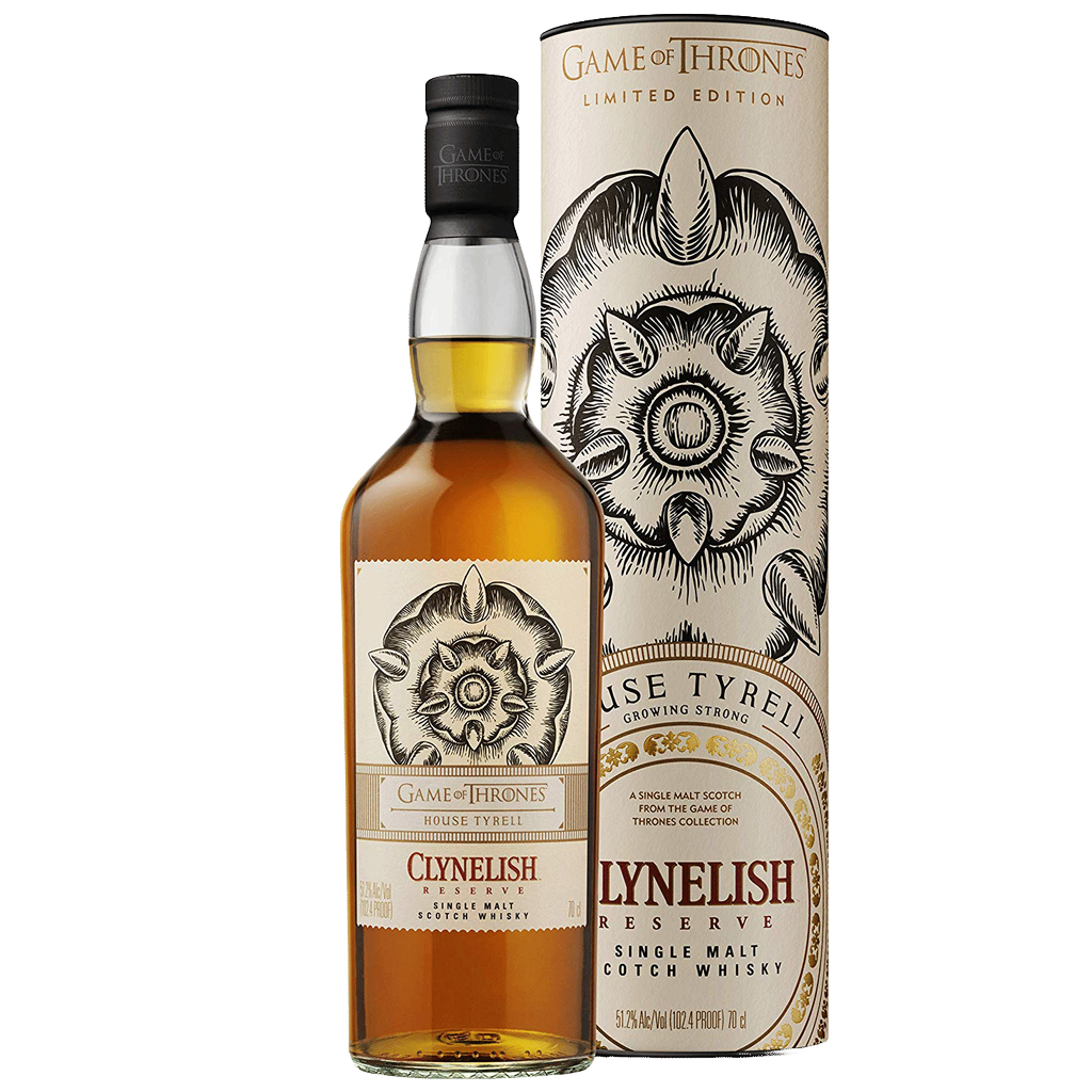 Spirits Game of Thrones Clynelish Reserve House of Tyrell Single Malt Scotch Limited Edition