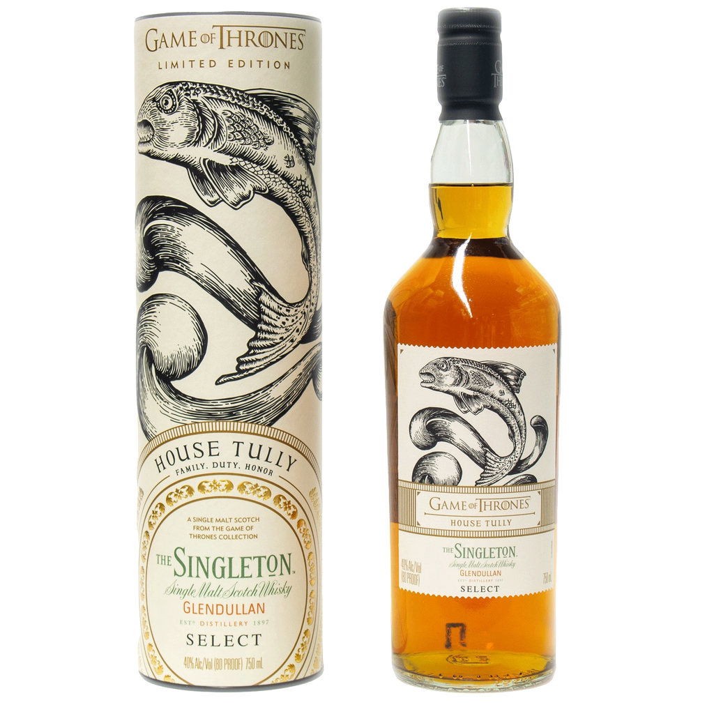 Spirits Game of Thrones House Tully Singleton of Glendullan Select Limited Edition Single Malt Scotch