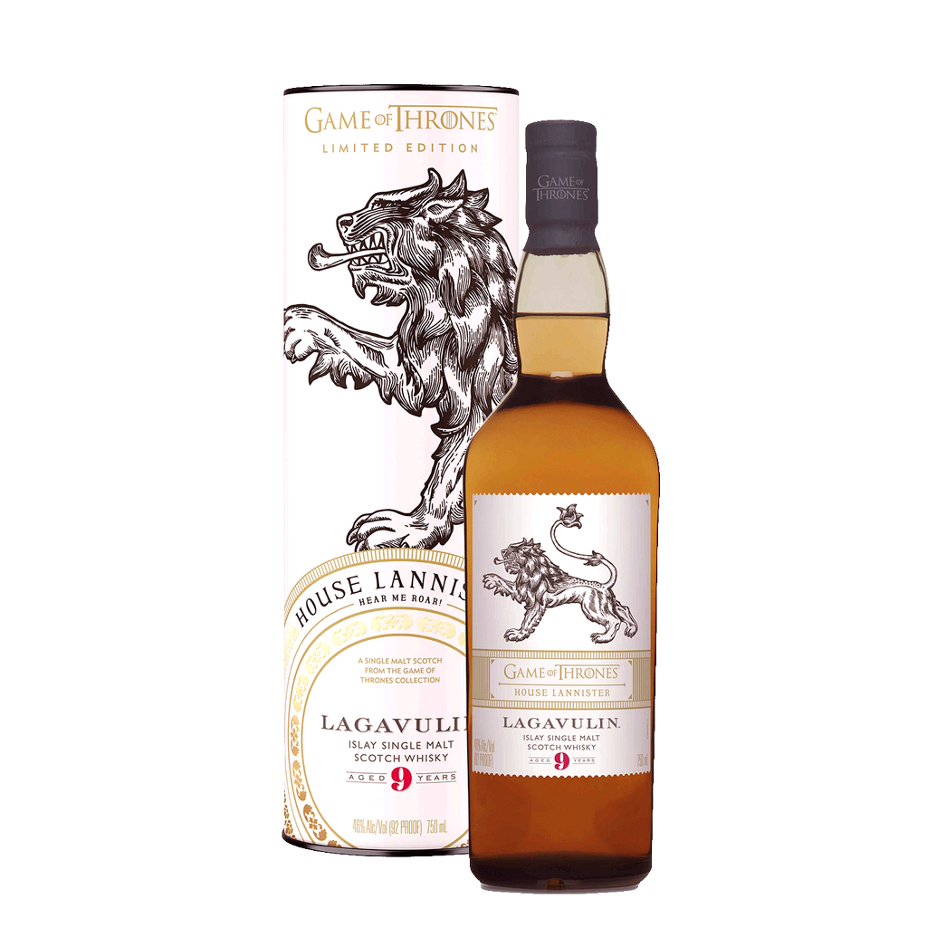 Spirits Game of Thrones Lagavulin 9 Year Old House Lannister Limited Edition Single Malt Scotch Whisky