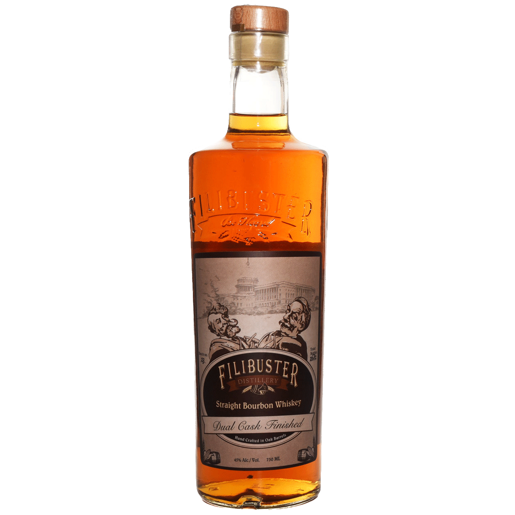 Spirits Filibuster Dual Cask Straight Bourbon Whiskey