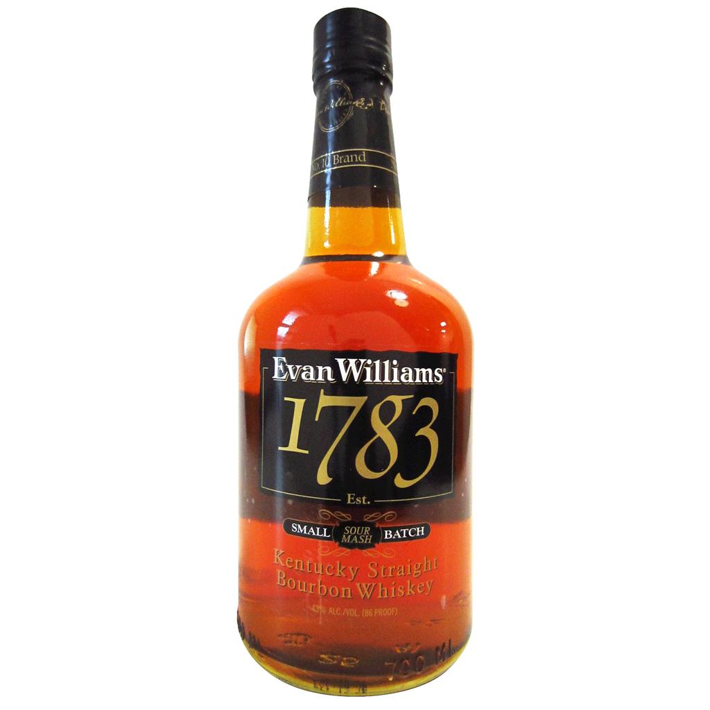 Spirits Evan Williams Bourbon Small Batch Sour Mash 1783