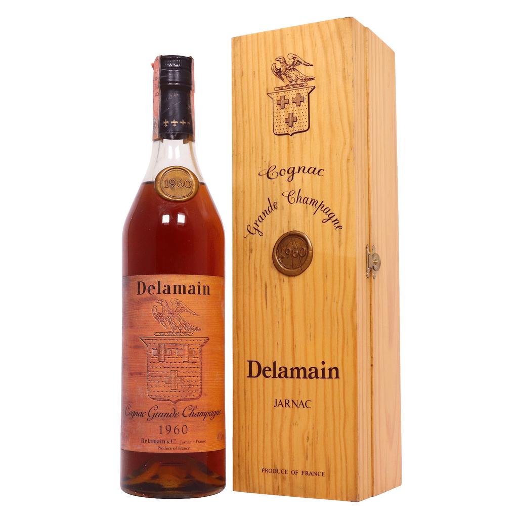 Spirits Delamain Grande Champagne Cognac 1960 owc