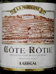 Wine Guigal Cote Rotie La Mouline 1978