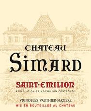 Wine Chateau Simard Saint Emilion 2000