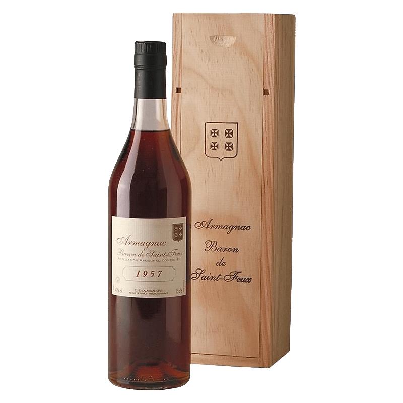 Wine Baron de Saint Feux Armagnac 1957 owc