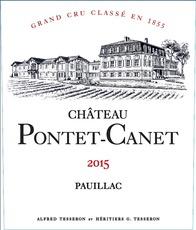 Wine Chateau Pontet Canet Pauillac 2015