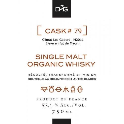 Spirits Domaine des Hautes Glaces Single Cask Single Malt French Whiskey