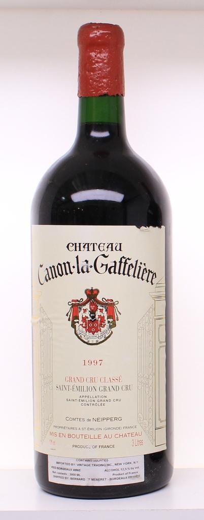 Wine Chateau Canon La Gaffeliere 1997 3L